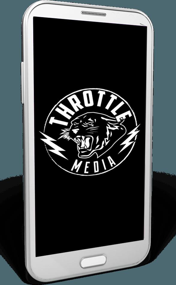 web design mobile throttle media